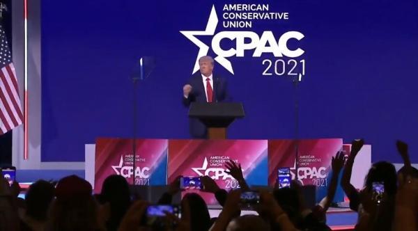 ترامپ, نشست اقدام سیاسی محافظهکاران آمریک
