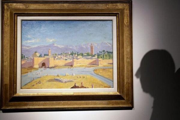 نقاشی وینستون چرچیل,حراج نقاشی وینستون چرچیل