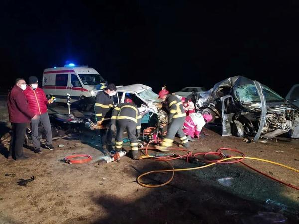 تصادف جادهای شدید در محور سلماس به ارومیه,مرگ هنرمندان
