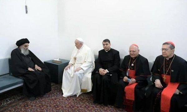دیدار آیت الله العظمی سیستانی با پاپ, پاپ فرانسیس