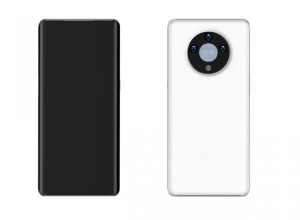 موبایلی با نمایشگری در ماژول دوربین پشتی,موبایل چینی