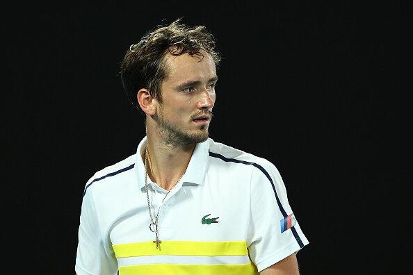 نیمه نهایی تنیس اپن استرالیا,مدودف