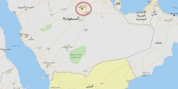 حمله موشکی انصار الله یمن به ریاض,
