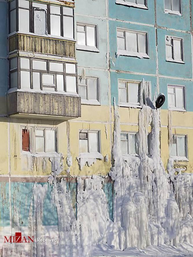 تصاویر شهر متروکه برفی در روسیه,عکس های شهر برفی در روسیه,تصاویری از شهر متروکه برفی در کشور روسیه