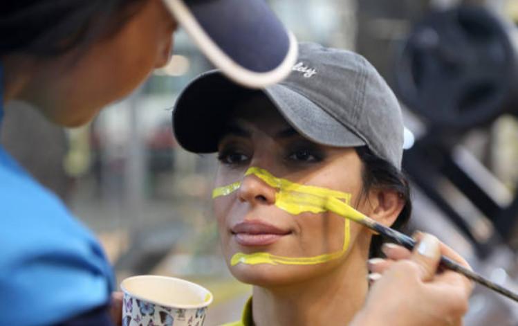 تصاویر ابتکار عجیب زنان بدنساز در تهران,عکس های زنان بدنساز در تهران,تصاویری از باشگاه بدنسازی در تهران