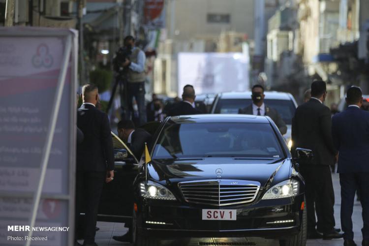 تصاویر دیدار پاپ فرانسیس و آیت الله سیستانی,عکس های پاپ فرانسیس در عراق,تصاویر پاپ فرانسیس در عراق