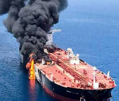 حمله به کشتی اسرائیلی,دریای عمان