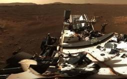 تصویر پانوراما از منظرههای سیاره سرخ,مریخ نورد استقامت
