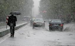 وضعیت آب و هوای کشور,بارش برف و باران
