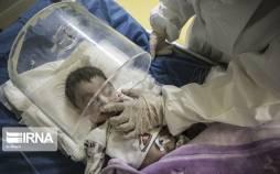 تصاویر بخش کودکان مبتلا به کرونا بیمارستان ابوذر اهواز,عکس های بیماران کرونایی در اهواز,تصاویر کودکان کرونایی اهواز
