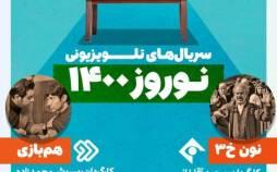 اینفوگرافیک سریالهای تلویزیونی نوروز ۱۴۰۰
