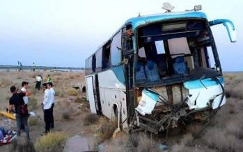 تصادف اتوبوس با کامیون در رودان,حادثه در رودان