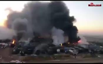 فیلم/ حمله موشکی روسیه به نفتکشهای تحت حمایت ترکیه