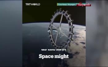 فیلم/ هتل فضایی استثنایی ناسا؛ اقامت برای سه شب: ۱۲۵ میلیارد تومان ناقابل!