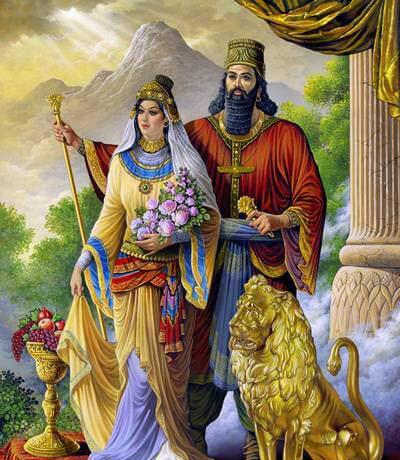 عکس های کوروش کبیر,زندگی نامه کوروش کبیر,همسر کوروش کبیر