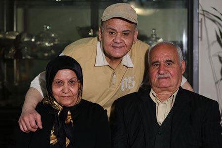 عکس پدر مادر اکبر عبدی,بیوگرافی اکبر عبدی,عکسهای اکبر عبدی