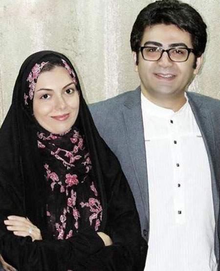 آزاده نامداری,عکس آزاده نامداری,آزاده نامداری و فرزاد حسنی