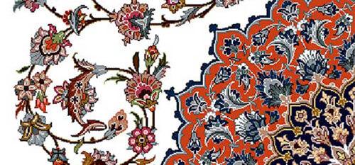 نقوش گیاهی فرش,تاریخچه فرش,انواع فرش