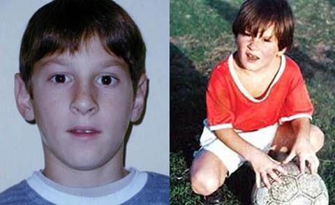 درباره مسی,بیوگرافی لیونل مسی,کودکی مسی