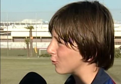 بیوگرافی لیونل مسی,مسی فوتبالیست,عکس نوجوانی مسی