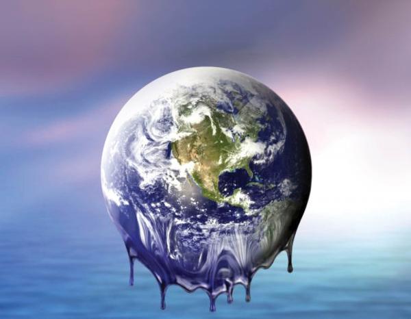 زمین,گرم شدن زمین,علت گرم شدن زمین