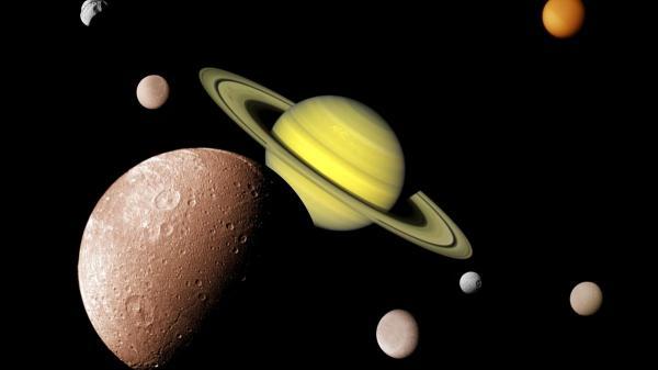 عکس زمین از سیاره زحل,سیاره زحل,سیاره زحل مساحت