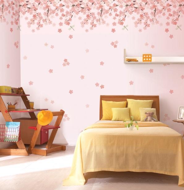 کاغذ دیواری,مدل کاغذ دیواری,کاغذ دیواری دخترانه