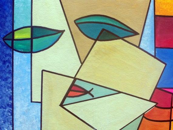 آثار بزرگان نقاشی با سبک هنر انتزاعی,هنر انتزاعی,هنر انتزاعی یعنی چه