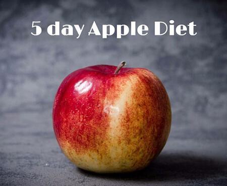 تصویر رژیم سیب,رژیم سیب چیست,رژیم سیب