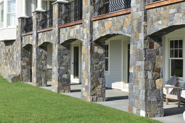 سنگ نما تراورتن,سنگ نما,انواع سنگ نما ساختمان