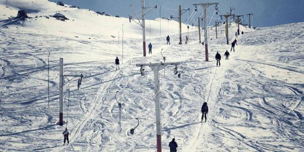 بام تهران,توچال بام تهران,پیست اسکی بام تهران