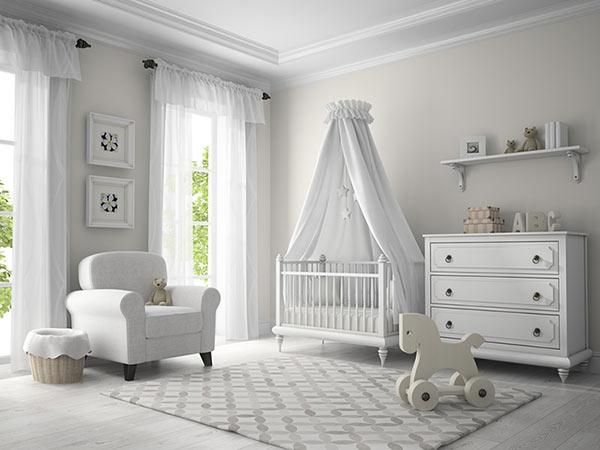 دکوراسیون اتاق نوزاد,چیدمان اتاق نوزاد,اتاق نوزاد