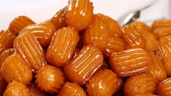 طرز خمیر بامیه,تهیه بامیه,طرز تهیه بامیه عربی