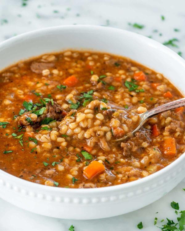 انواع سوپ جو,سوپ جو,آموزش سوپ جو