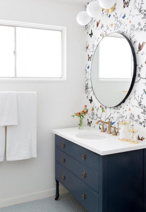 عکس دکوراسیون حمام ودستشویی,دکوراسیون حمام,ایده هایی برای دکوراسیون حمام