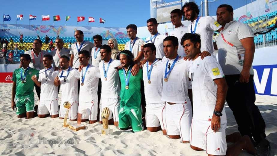فوتبال ساحلی,فوتبال ساحلی ایران,تیم فوتبال ساحلی ایران