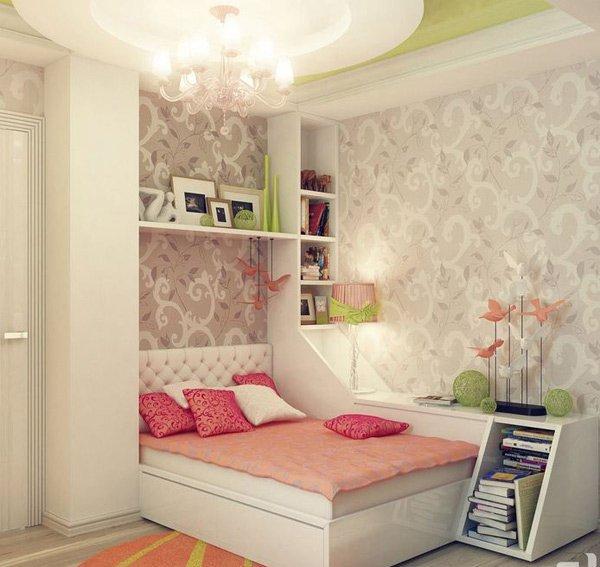عکس اتاق خواب دخترانه,مدل اتاق خواب دخترانه,مدل دکوراسیون اتاق خواب دخترانه