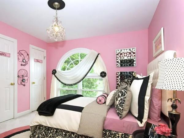 عکس دکوراسیون اتاق خواب دخترانه,دیزاین اتاق خواب دخترانه,طراحی داخلی اتاق خواب دخترانه