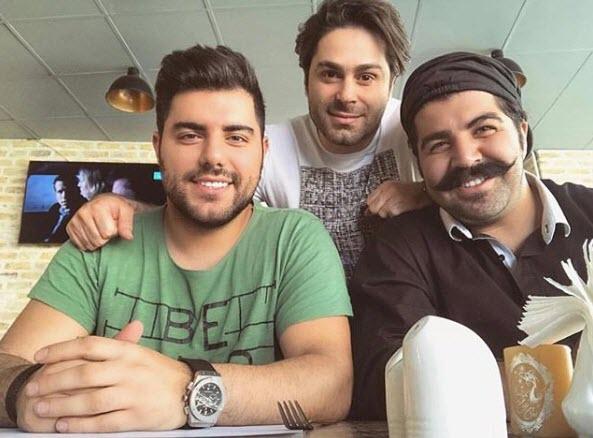 عکس حامد برادران و بهنام بانی,آهنگساز بهنام بانی,بهنام بانی