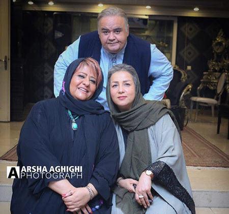 عکس همسر اکبر عبدی,نینا عبدی همسر اکبر عبدی,عکسهای اکبر عبدی
