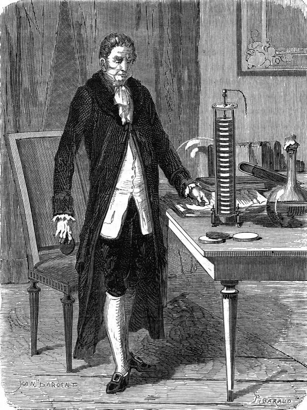 فوت الساندرو ولتا,اختراعات آلساندرو ولتا,آلساندرو ولتا