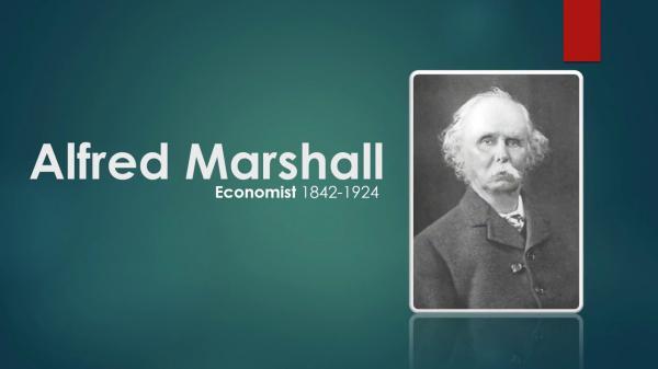آلفرد مارشال,عکس های آلفرد مارشال,کتاب اصول علم اقتصاد آلفرد مارشال