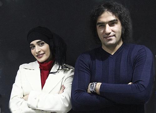 عکس رضا یزدانی و اندیشه فولادوند,اندیشه فولادوند و رضا یزدانی,همسر اندیشه فولادوند