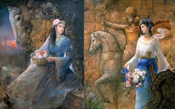 بیوگرافی آتوسا,مرگ آتوسا دختر کوروش کبیر,آتوسا