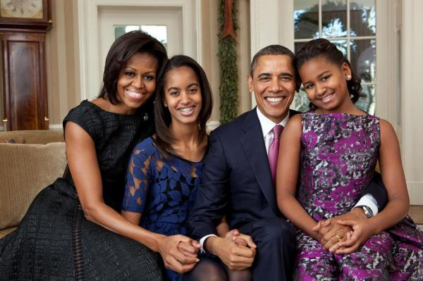 درباره باراک اوباما,عکسهای خانوادگی باراک اوباما,باراک اوباما