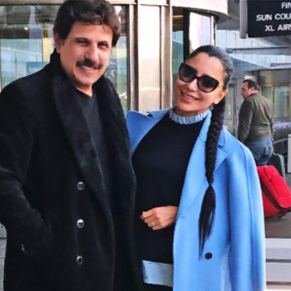 عکس بیژن مرتضوی و همسرش,بیژن مرتضوی و ستاره سعیدی,عکس بیژن مرتضوی