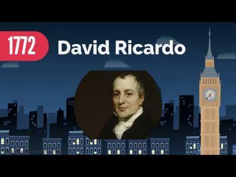 بیوگرافی دیوید ریکاردو,دیوید ریکاردو,زندگی نامه دیوید ریکاردو
