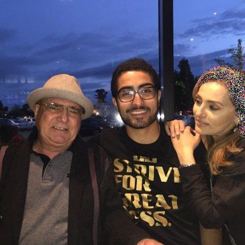 عکس محمدرضا شجریان,محمدرضا شجریان و همسرش,محمدرضا شجریان