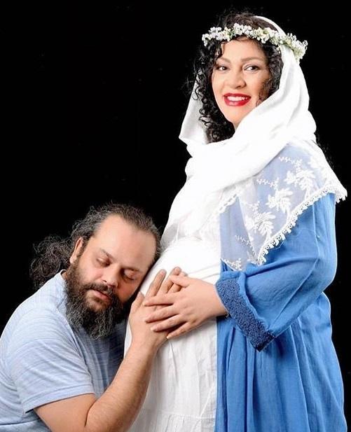 پیام صابری و همسرش،بیوگرافی پیام صابری،پیام صابری