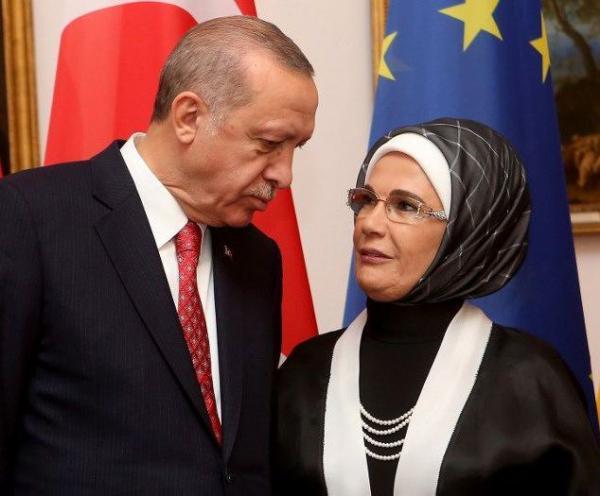 همسر رجب طیب اردوغان,رجب طیب اردوغان و همسرش,رجب طیب اردوغان